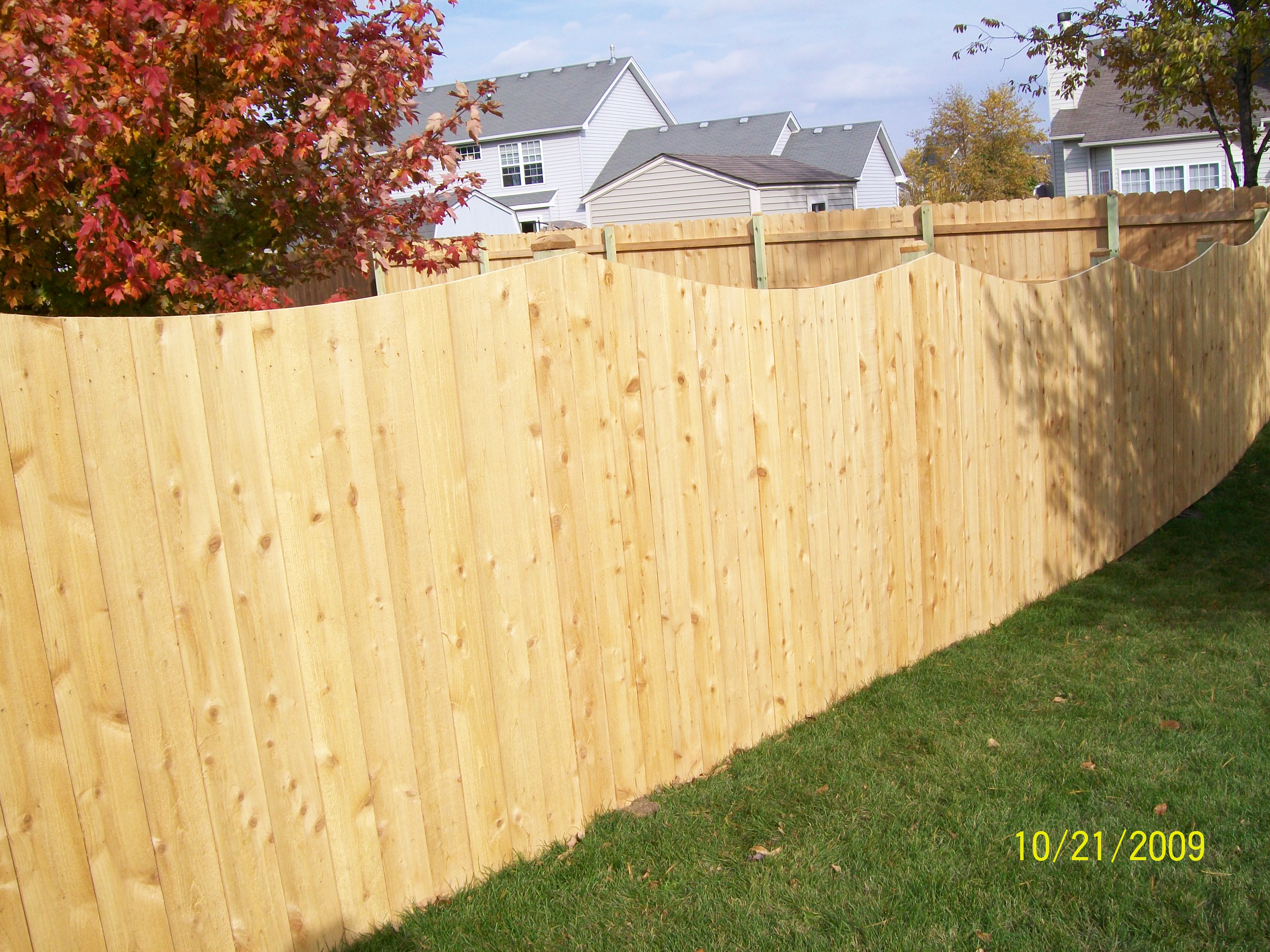 Privacy Wod Fence