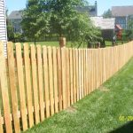 space picket fence